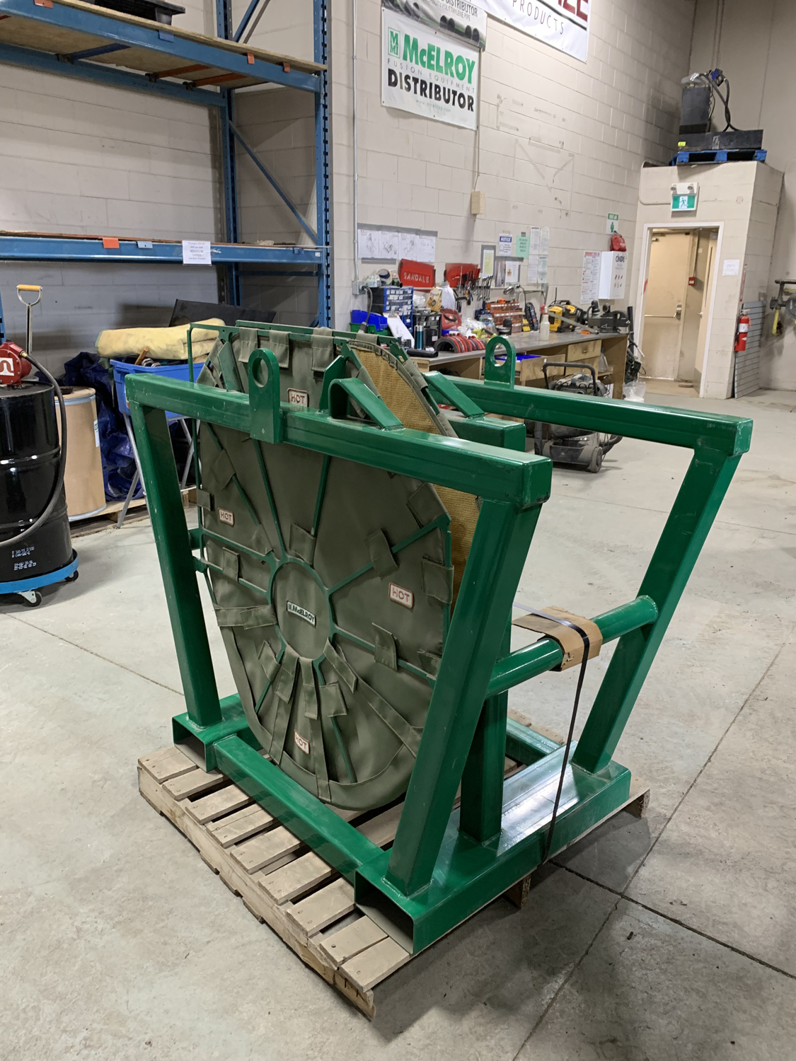 In-Ditch Heater/Facer Stand